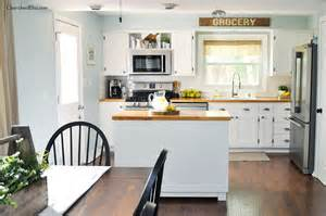 Industrial Decor Diy Industrial Farmhouse Kitchen Cherished Bliss