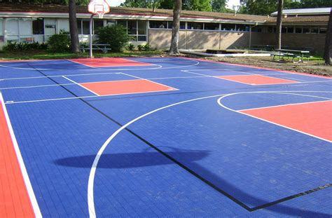 backyard basketball court tiles premium outdoor sport tiles court flooring