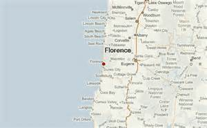 map florence oregon florence oregon location guide
