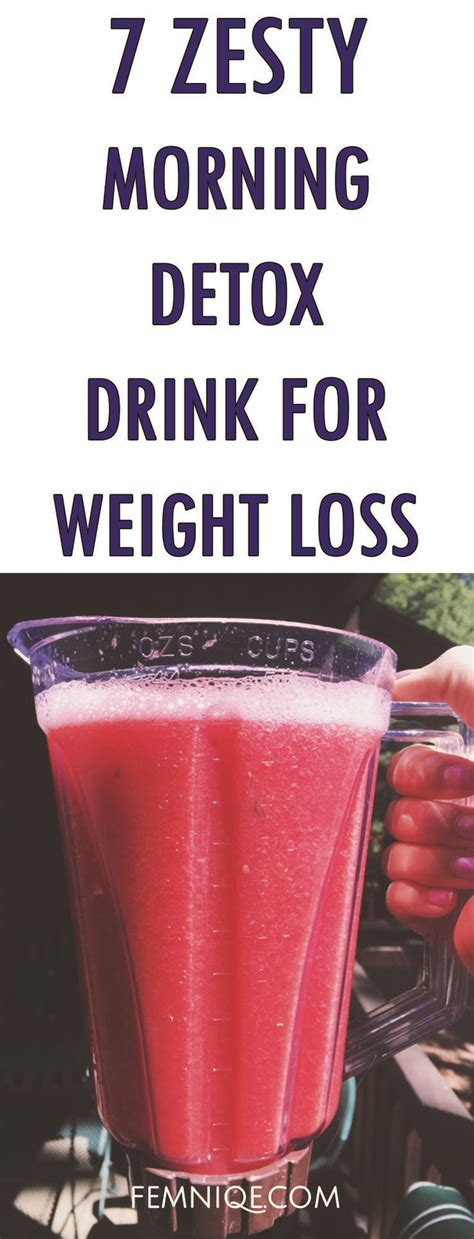 7 Day Weight Loss Detox Drink by Best 25 Burning Drinks Ideas On Belly