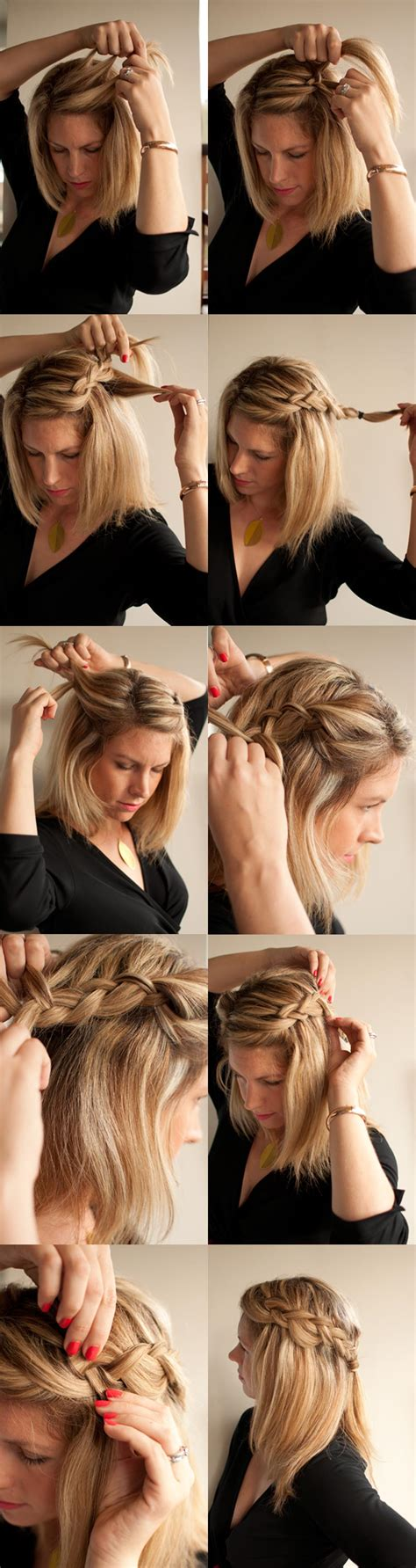how to braid short hair step by step how to easy braid hairstyle hair romance reader question