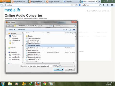 format cd ke mp3 indo kid xp cara merubah file format mp3 ke wav ogg dan wma