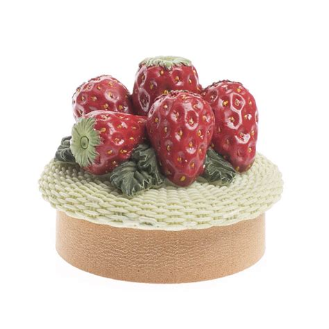 Strawberry Home Decor by Resin Strawberry Tealight Candle Topper Candles And
