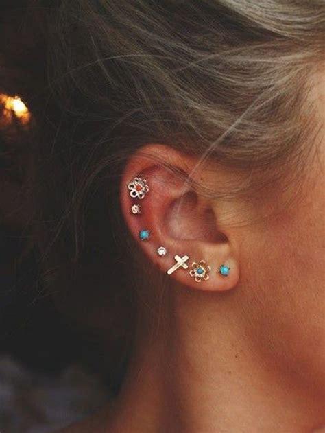 4 the of go l d les 25 meilleures id 233 es de la cat 233 gorie piercings d oreilles sur piercings