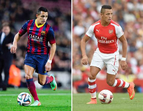 alexis sanchez debut arsenal alexis sanchez the stars who have played for arsenal and