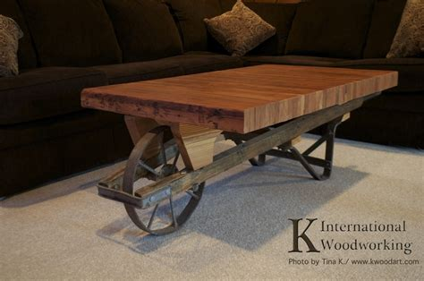 barrow and bench wheelbarrow bowling lane coffee table
