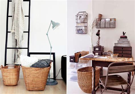 decorar hogar muebles ideas para decorar con cestas de mimbre blog de muebles