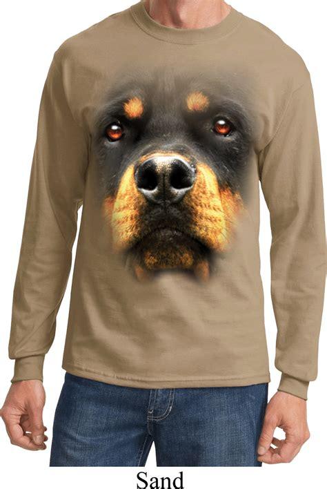 rottweiler shirt mens shirt big rottweiler sleeve t shirt