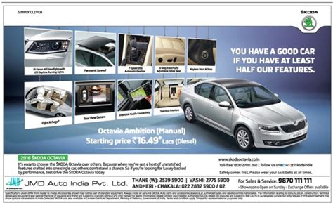 car advertisement skoda octavia car advertisement advert gallery
