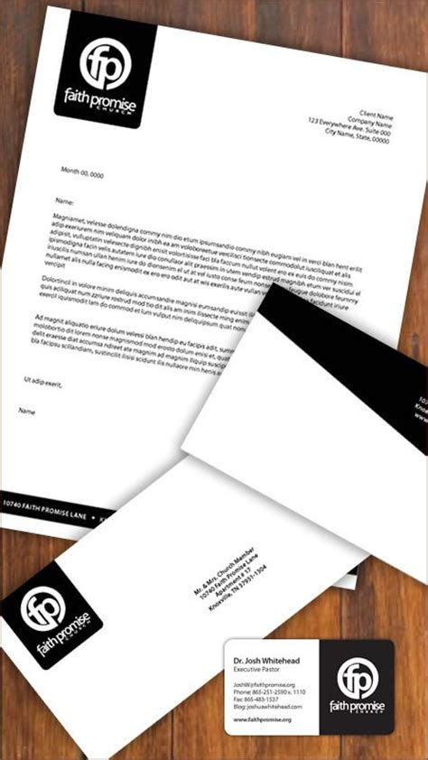 Letter Card Design 25 Best Ideas About Letterhead Design On Stationary Design Letterhead Exles And