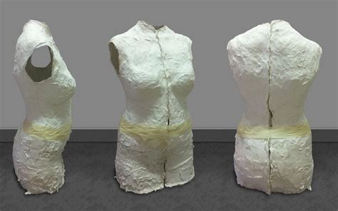 How To Make A Mannequin Out Of Paper Mache - couture stories make a dummy