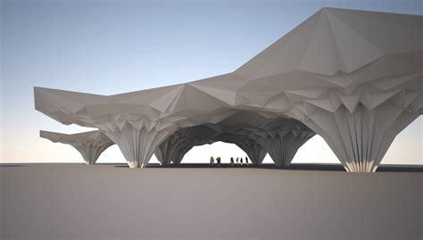 Paper Folding Architecture - folding architecture