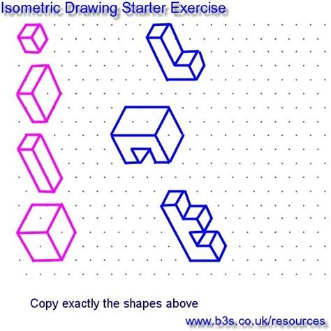 isometric graph paper google search pltw pinterest 28 isometric drawing practice worksheet