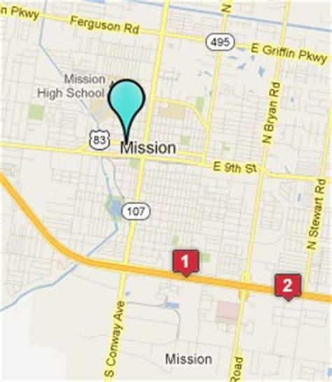 mission texas map mission tx hotels motels see all discounts