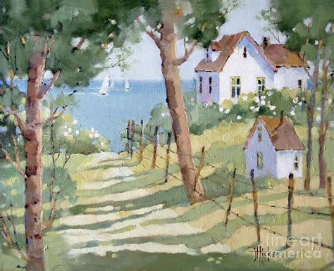 Cape Cod Home Decor perfectly peaceful nantucket painting by joyce hicks
