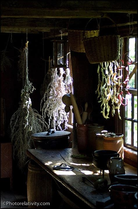 witch home decor bohemian pages herbs