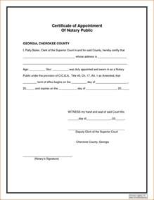 Notary Template by Notarized Statement Template Bestsellerbookdb