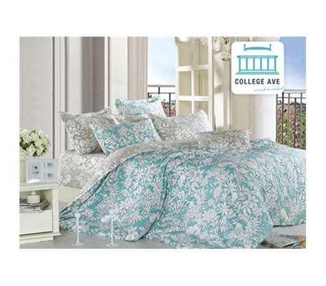 teal comforter sets ashen teal xl comforter set college ave designer