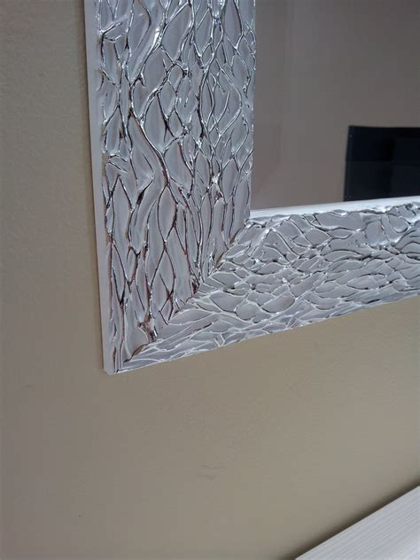 specchio cornice argento specchio bianco argento complementi specchi shop