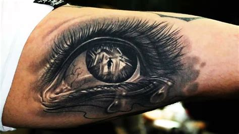 eye design tattoo 3d tattoos a growing trend in designs memorial