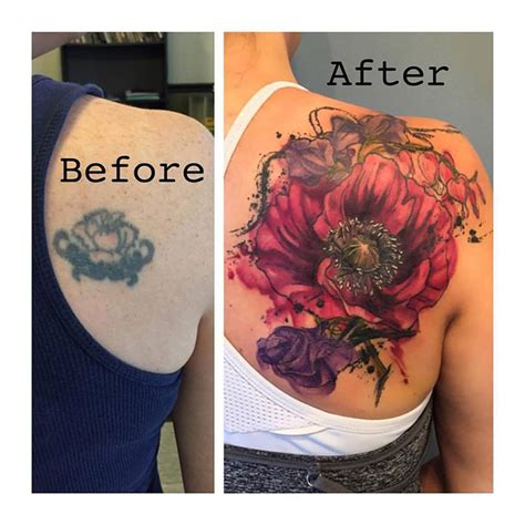 watercolor tattoo cover ups lehigh valley piercing mind s eye
