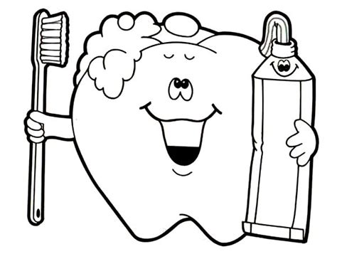 Tooth Coloring Pages Getcoloringpages Com Teeth Brushing Coloring Pages