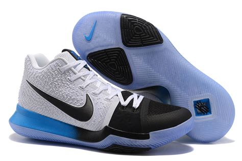 best selling nike basketball shoes best sell nike kyrie irving 3 black blue gradient white