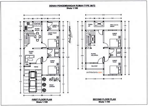 layout rumah type 36 72 desain renovasi dan pengembangan rumah type 36 gills united