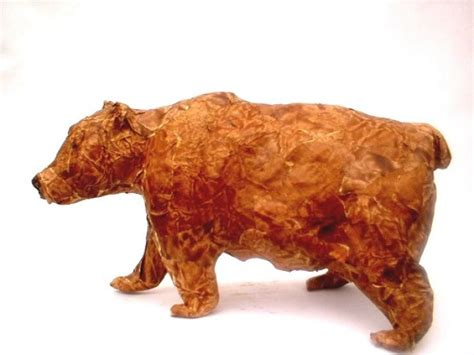 How To Make Large Paper Mache Animals - 1000 images about paper mache bears on bears