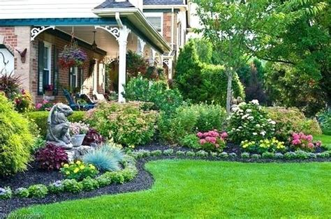 landscape flower beds medium size of patio outdoor front garden landscape ideas landscaping