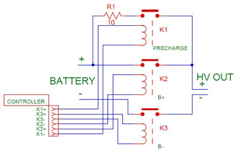capacitor precharge circuit pre charge