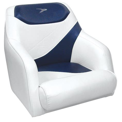 wise contemporary boat seats wise seating bucket seat white midnight blue west marine