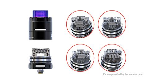Authentic Rda Limitless 24mm Ss 19 39 authentic ijoy cigpet eco rda rebuildable