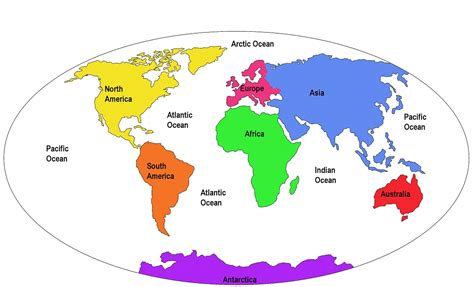 map of continents and oceans aj si matt and me