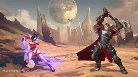 riot games unveils league  legends fighting game project