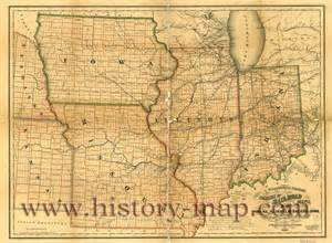 Iowa Illinois Map by Map Of Illinois And Iowa Aphisvirtualmeet