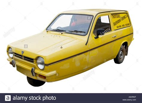 reliant robin trotters independent trading co yellow reliant robin