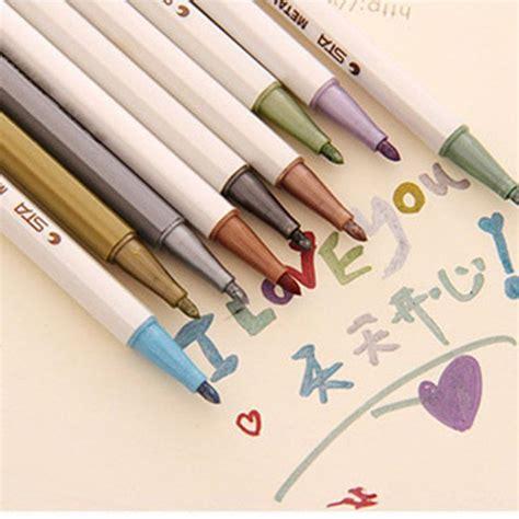 Sharpie Metallic Point 3 Pcs Set Berkualitas 10pcs mixed permanent marker pens sharpie painting pencil