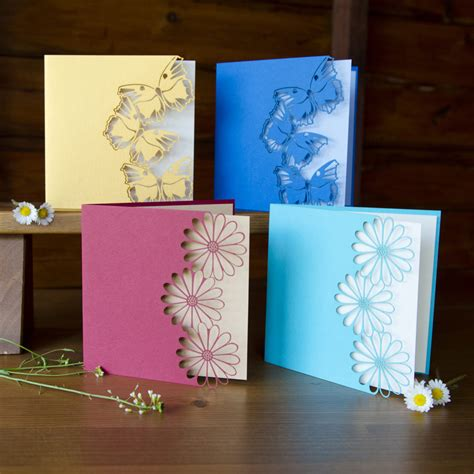 Make Handmade Greeting Cards - home design handmade greeting card idea crafthubs easy