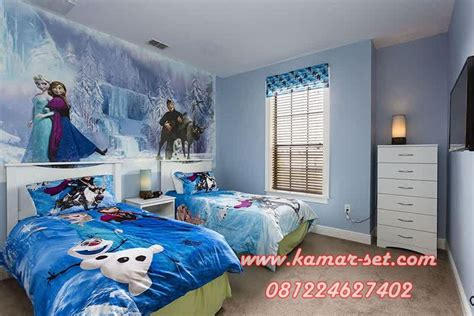 Kasur Bigland Gambar Frozen tempat tidur anak perempuan set kamar tidur frozen