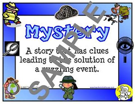Fiction Genre Studies Resources From Teacher S Clubhouse