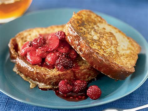 chef john french toast brioche french toast with fresh berry compote recipe