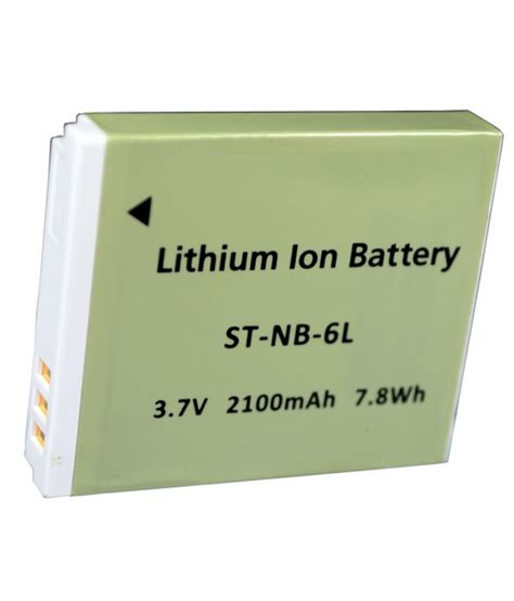sdv high power battery canon nb 6l for sd980 is sd770 is