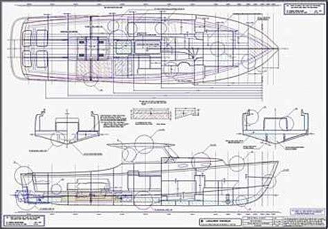 classic power day boat  lidgard yacht design australia