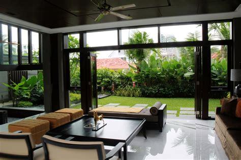 living room with garden frankel walk 171 esmond landscape and horticultural pte ltd singapore