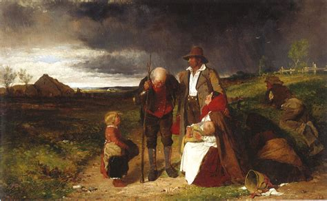 An Ejected Family | Views of the Famine