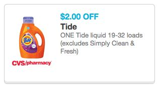 tide printable coupons 2 00 off tide coupon 2 00 tide cvs coupon living rich with coupons 174
