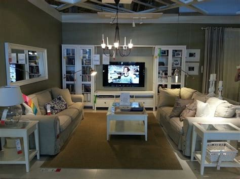 ikea living rooms 15 best ikea showrooms images on pinterest