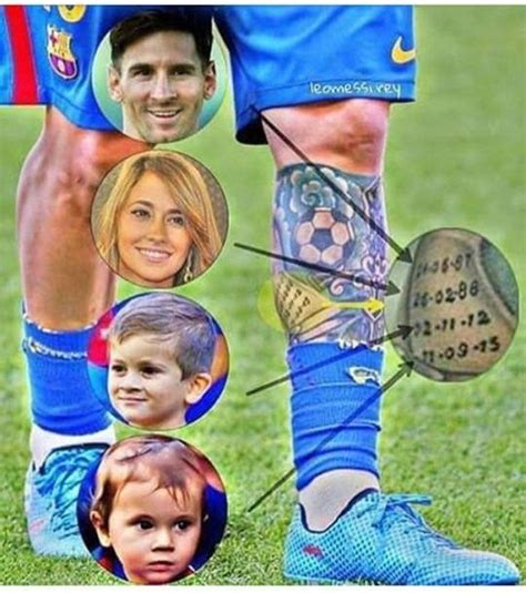 messi tattoo baby 105 best images about camisetas de futbol 2017 2018 on