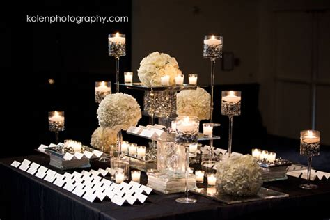 Black And White Wedding Decor by Fabulous Cards Displays The Magazine